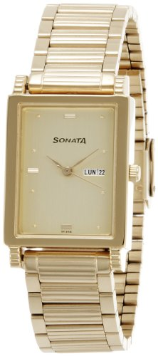 41DWygT IxL - Sonata 7058YM05 Gold Mens watch