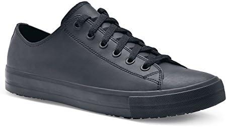 Zapatos para Crews 38649-45/10 DELRAY Zapatos de piel casual para hombre, antideslizantes, talla 10, color negro