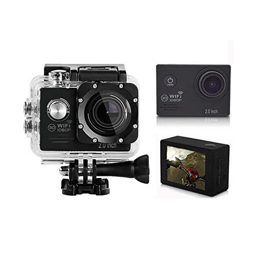 JIEJIEDA Action Kamera 4K Kamera WiFi dual-Screen Touch Outdoor wasserdicht Dv Tauchen Unterwasser 60.38 * 43,56 * 31.48 mm Touch-screen-kits