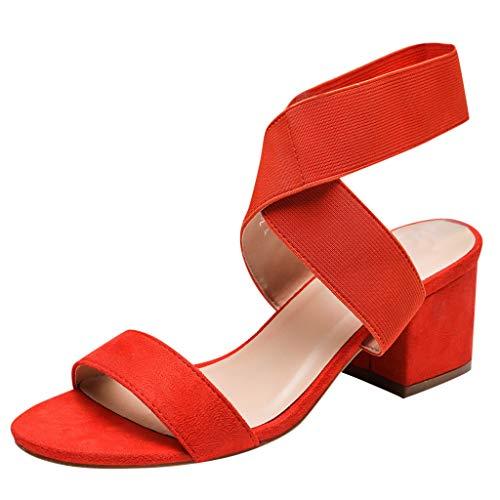 Uomogo scarpe col tacco donna mary jane basse plateau punta eleganti estate chiuse traspirante blocco heels 5 cm moda comode scarpe nero marrone beige 36-41 eu