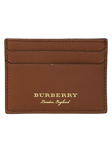 BURBERRY Herren 4054765 Braun Leder Kreditkartenetui