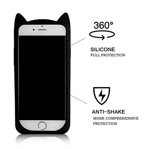 iPhone 6S Plus Case iPhone 6 Plus / 6S Plus 5.5 Pouces Back Cover,MingKun TPU Flex Cas pour iPhone 6S Plus TPU Silicone Coque Shock-Absorption Bumper et Anti-Scratch Effacer Skin ProtectionCase Cover  barbe Cartoon-2
