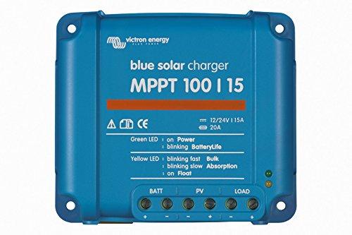 Solarladeregler Victron Energy BlueSolar MPPT und passendes Zubehör (3. BlueSolar Laderegler MPPT 100/15) -
