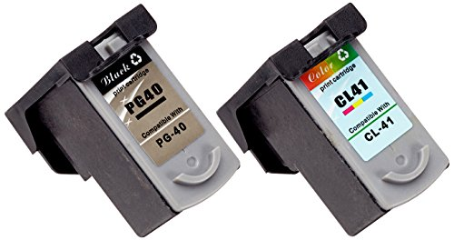 Prestige Cartridge 8 x PG-40 CL-41 Tintenpatronen, schwarz/dreifarbig - Pg-40 Ink Cartridge