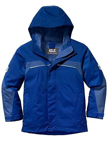 Jack Wolfskin Jungen Jacke Topaz Texapore Jkt B, Active Blue, 116, 1604762-1080116
