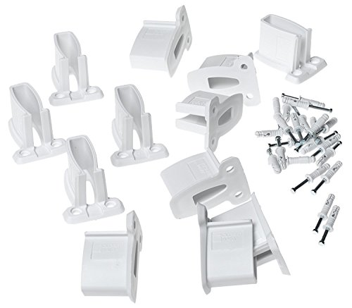 CLOSETMAID - 12-Pack White Wall Bracket -