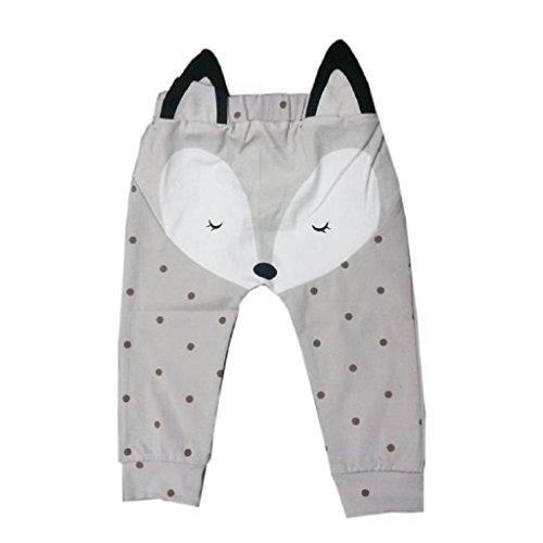 Internnet Baby Kind Jungen Mädchen Sommer Harem Hosen (70, grau) (Das Tragen Von Bermuda-shorts)