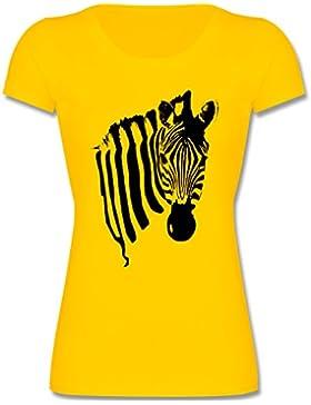 Shirtracer Tiermotive Kind - Zebra - Mädchen T-Shirt