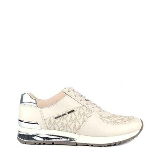 MICHAEL by Michael Kors Allie Sneaker Vanilla Donna 37 EU Vanilla
