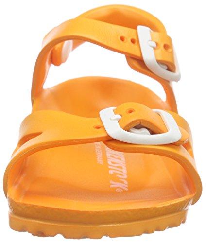 Birkenstock Rio EVA, Sandales Bride cheville mixte enfant Orange (Neon Orange)