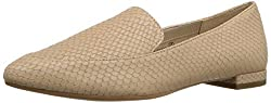 Aerosoles Womens Girlfriend Slip-on Loafer, Light Tan Snake, 6 M US