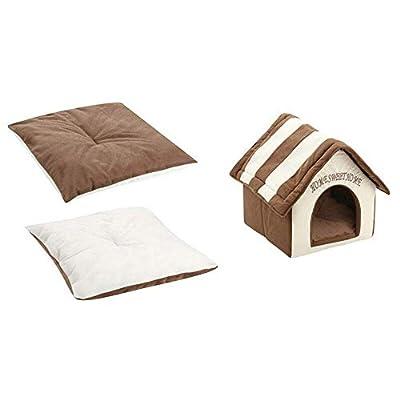 mottdam New Pet Supply Kennel Cat Litter Warm Pet Nest Dog Warm House Winter Thickening from mottdam