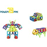 Powerpak Xinbida Magical Magnet-77pcs Magnetic Building Blocks 3D Puzzle Learning Toy For Kids (No.705)