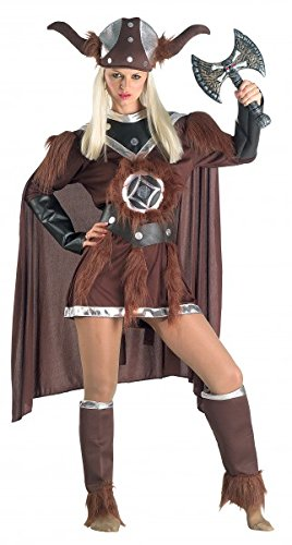 Wikingerfraukostüm Barbarinkostüm Luxuswikingerkostüm, (Wikinger Baby Kostüme)