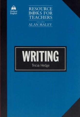 Writing (Resource Books for Teachers) par Tricia Hedge