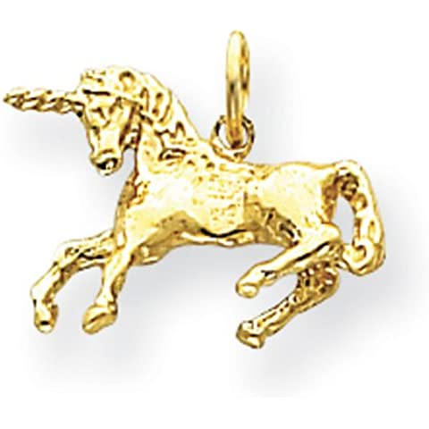 Icecarats Diseñadora De Joyas De 14 K Encanto Unicornio