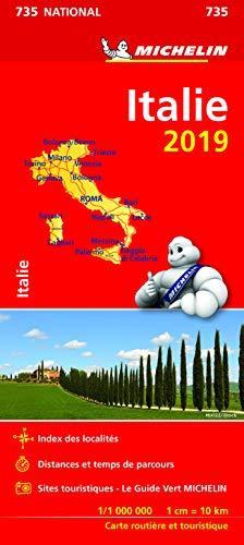 Carte Italie Michelin 2019 par  Michelin