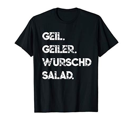 Schwaben Wurstsalat Schwäbisch Spruch Lustig T-Shirt
