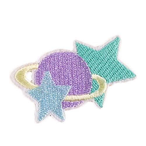 6 Stück Kinder Kleidung Dekoration Niedlichen Cartoon Applique Patches Stickerei Patch Tuch, A49