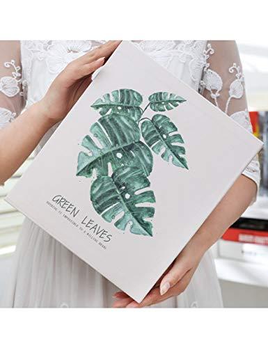 DPHD Album 4D Große 200-Pocket-Album-Speicher-Speicher-Rahmen PVC Blume Foto Speichern Box Einfügen Bücher Gedenk Hochzeit Fotoalbum -