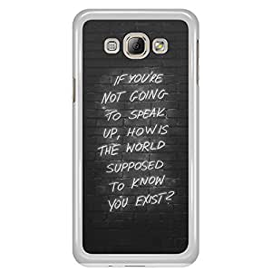 a AND b Designer Printed Mobile Back Cover / Back Case For Samsung Galaxy A8 (SG_A8_3037)