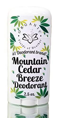 Organic Deodorant-Men's Mountain Cedar-Healthy All Natural Deodorant Detoxes With No Aluminum - Handcrafted In...