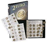 Vordruckalbum 2 EURO-Gedenkmünzen: Alle Euro-Länder (chronologisch bis März 2012) [Lindner 1118M] zur Unterbringung aller 2 Euro-Gedenkmünzen (außer Monaco, Vatikan und San Marino)
