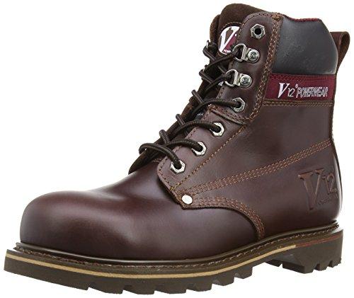 V12 Boulder, Chaussures de sécurité Homme Marron (brown)