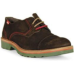 Wisconsin - Zapato Blucher Serraje Marron