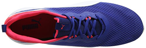 Puma Unisex-Erwachsene Pacer Evo Low-Top, 42 EU Blau (true blue-puma white 02)