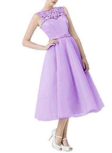 Find Dress Vintage années 50 's Style Audrey Hepburn Rockabilly Swing, Robe de soirée cocktail à Carreau Lavande