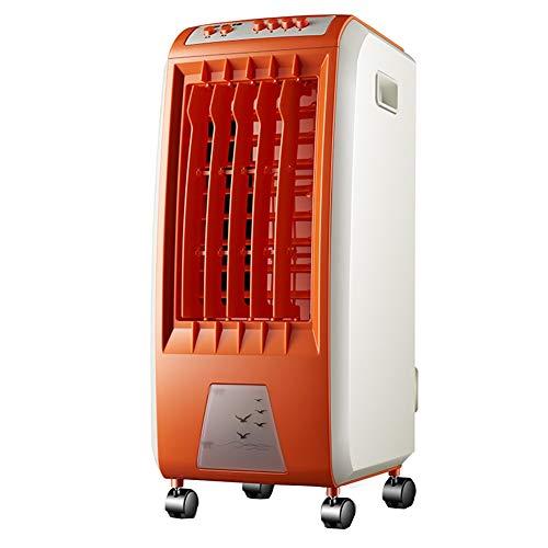 GGYMEI-klimaanlage tragbare Filterreiniger Befeuchtungskühlung Beweglicher Luftkühler Aus Kunststoff, Wassertank 6L (Color : Orange, Size : 30.3x25.6x56.5cm)