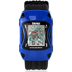Lamborghini waterproof digital watches/Childrens creative gifts/Lovely and interesting students table-C