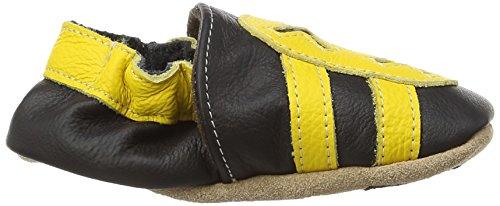 Hobea Germany HOBEAF308425 Chaussures Premiers pas Sneaker Design Taille 26/27 Schwarz (schwarz gelb)