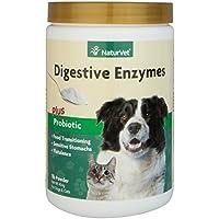 NaturVet Digestivo Enzimas y Probiotics, 453g