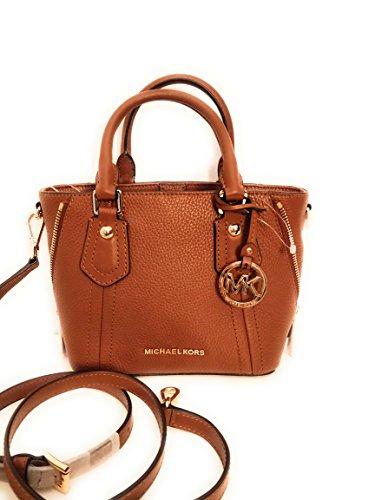 Michael Kors Arial Brown Soft Cook Handbag and Shoulder Strap Size M/S 25x17x19cm Leder New