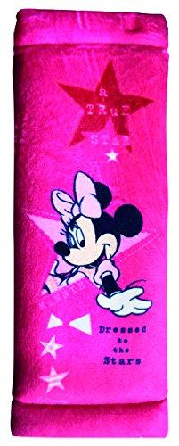 Minnie Mouse MIKFZ442 ' Gurtpolster, Bedruckt, Pink - Kinder Polster Für Sicherheitsgurt