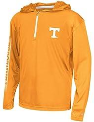 "Tennessee Volunteers Youth NCAA ""Sleet"" 1/4 Zip Pullover Hooded WindShirt Chemise"