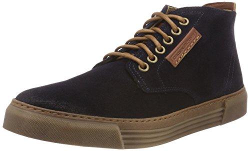 camel active Herren Racket 20 Hohe Sneaker, Blau (Midnight (Caramel) 11), 43 EU (9 UK)