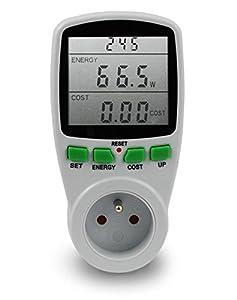La consommation d'énergie mètre wattmètre prise compteur d'énergie de compteur