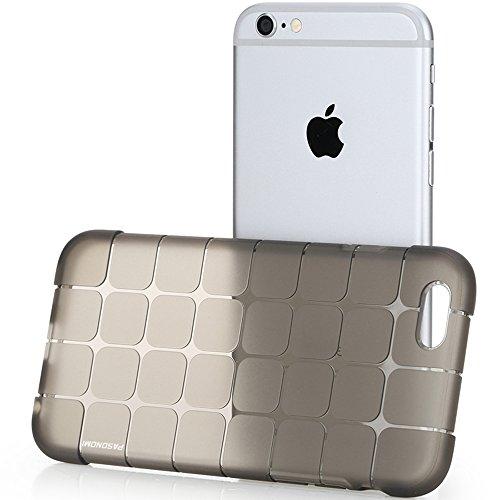 iPhone 6S Hülle, Pasonomi® [Ultra Slim] [Transparent] Weiche Flexible Extrem Dünne TPU Schutzhülle Tasche Case Cover für Apple iPhone 6/6S (4,7 Zoll) (iPhone 6S Plus, Weiß) Schwarz