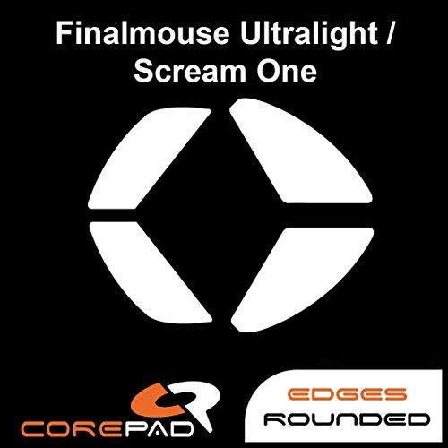 Corepad Skatez - PRO 132 - FinalMouse Ultralight Pro / Phantom / Sunset / Scream One / Tournament Pro / Air58 Ninja - Ersatz Mausfüße Replacement Mouse Feet