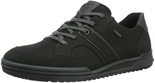 Ecco FRASER, Sneaker Uomo, Nero (Black (black/moonless)), 43
