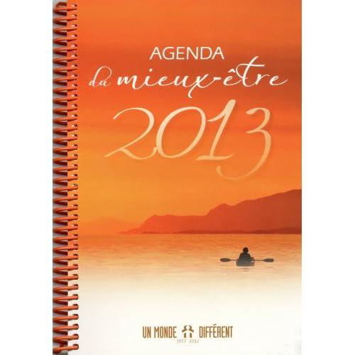 Agenda du mieux-être 2013