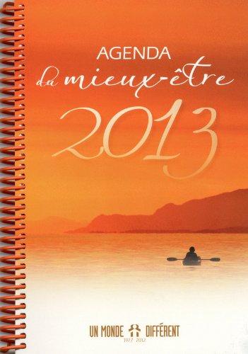 Agenda du mieux-être 2013 par Collectif