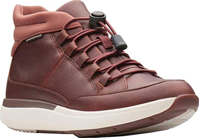 Clarks donna Un Cruise Mid Mid Mid scarpe, Dark Tan Leather, Dimensione 7.5 | Prodotti di alta qualità  | Scolaro/Signora Scarpa  16ec33