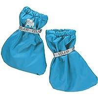Celavi Waterproof Fleece PU Futter Booties Footies (0-1-2yrs(15cm), Blue)