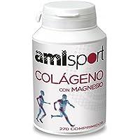 AmlSport - Colágeno con Magnesio, 270 Comprimidos