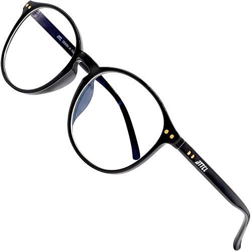 ATTCL Unisex blaulichtfilter brille computerbrille zum Blockieren von UV-Kopfschmerz [Verringerung der Augenbelastung] Gaming Brille 1133-Black