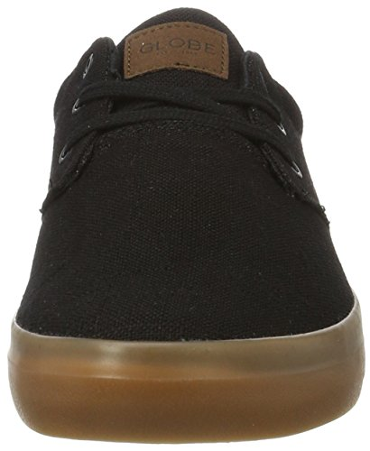 Globe Willow, Pantofole Uomo Nero (Black Hemp/gum)